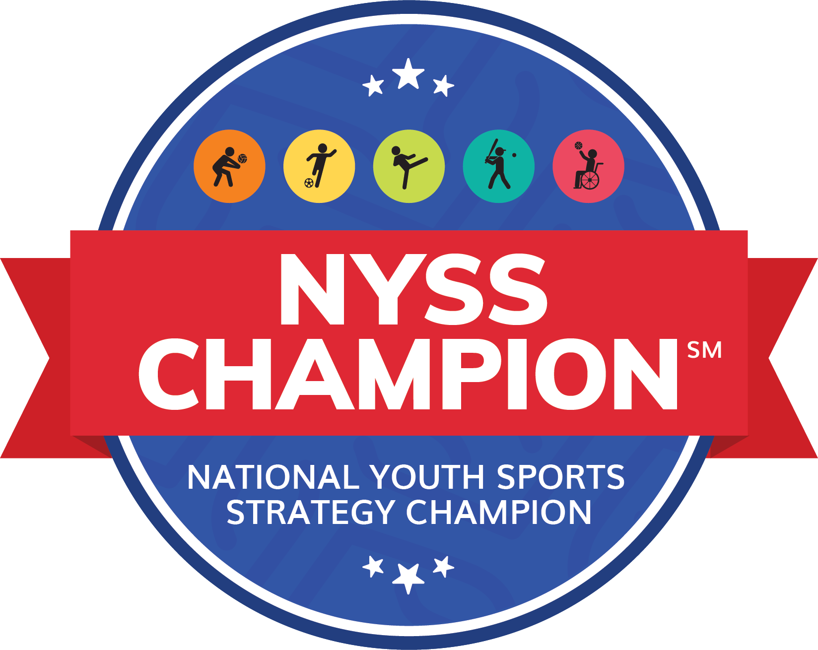 Official National Youth Sport Strategy (NYSS) Champion web badge
